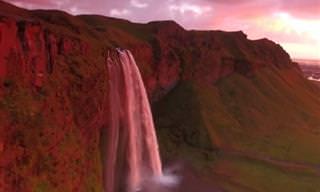 צפו בנופי איסלנד המרהיבים כפי שמעולם עוד לא ראיתם אותם