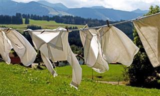 12 שיטות לנטרול ריחות לא נעימים מבגדים בלי מכונת כביסה
