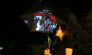 שומרים ליום גשום - עיצובי מטריות מרהיבים