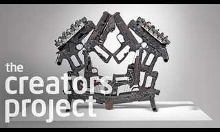 תזמורת שלמה עשויה מכלי נשק