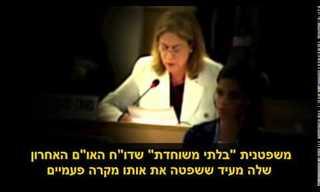 """כל האמת על וועדת האו""""ם לחקירת מבצע צוק איתן"""