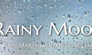 להקשיב לצלילי הגשם באמצע הקיץ