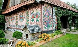 כפר הפרחים בפולין - מסורת מדהימה!