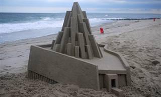 25 ארמונות חול בעיצובים אדריכליים מרשימים