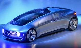 מרצדס בנץ F 015 - העתיד של כלי הרכב