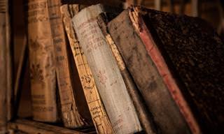7 שימושים יצירתיים לספרים הישנים שלכם
