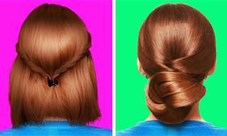 הסרטון הזה ייתן לך שלל רעיונות לעיצוב שיער מקורי ופשוט!