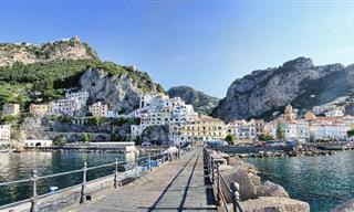 צאו לסיור קסום אל רצועת החוף האיטלקית באמלפי