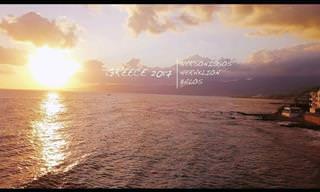 סרטון מרהיב של האי כרתים באיכות 4K