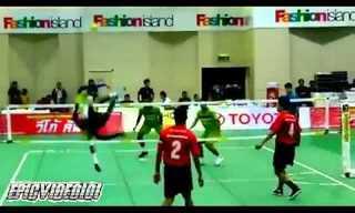 טאקראוו, הכדורגל התאילנדי