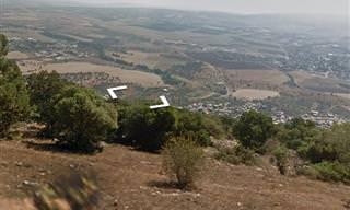 טיול בשביל ישראל עם מפות ב-360 מעלות
