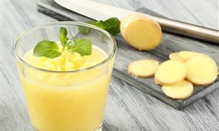 משקה הבריאות שדוחה את האלרגיה