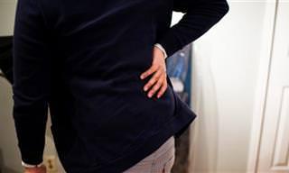 10 גורמים נפוצים לכאבי גב