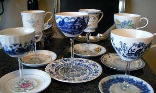 15 שימושים לסט כוסות תה