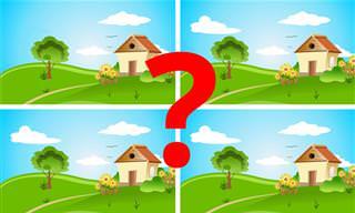 בחן את עצמך: מצא את ההבדלים בתמונות הבאות