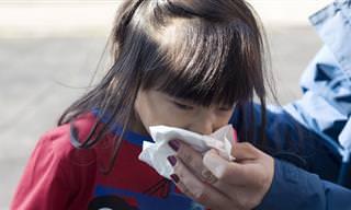 12 תרופות סבתא למחלות החורף של הילדים