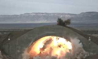 ניסוי בפצצה חודרת בונקר