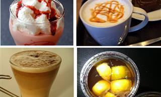 8 מתכוני תה וקפה טעימים ומפתיעים