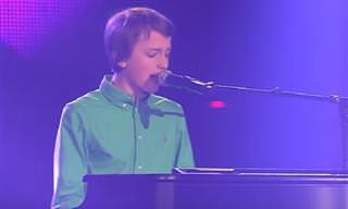 הזמר והפסנתרן הצעיר שהלהיב את כל השופטים