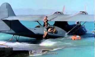 קטלינה - מטוס הקרב הימי שכיכב במלחמת העולם השנייה - בצבע!