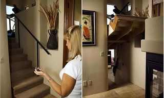 מעברים סודיים בתוך הבית
