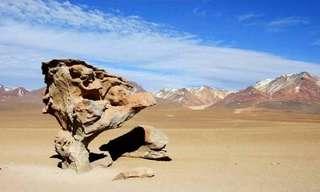 הסלעים היפים בעולם