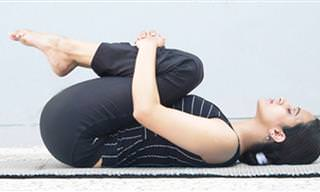 4 תנוחות להקלה ושחרור כאבי גב עבור שינה טובה יותר