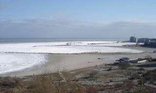 לצנן את הקיץ - תמונות של ים קפוא