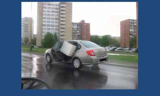 טיפשות על גלגלים - קורע!