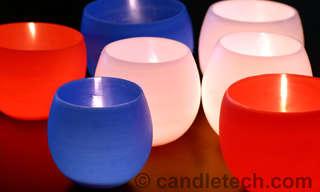 3 נרות מדליקים להכנה בבית