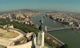 מפה אינטראקטיבית לטיול ברחבי הונגריה היפיפייה