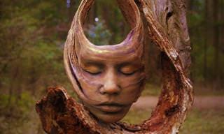 18 תמונות של פסלי עץ מרהיבים בהשראת הטבע