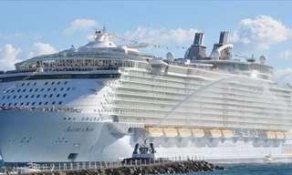 10 ספינות התענוגות הגדולות ביותר בעולם
