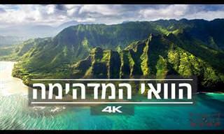סרטון מדהים של הוואי