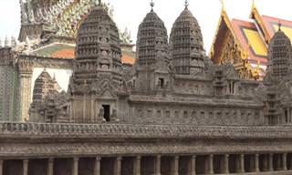 צאו לסיור בין כתלי המקדש הבודהיסטי הקדוש ביותר בתאילנד