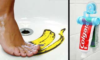 גאונות רטובה - גאדג`טים מטורפים לאמבטיה