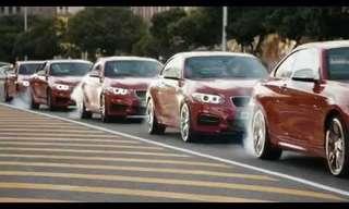 פעלולי נהיגה מדהימים ברכבי BMW