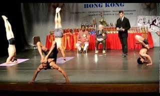 אליפות העולם ביוגה מהונג קונג