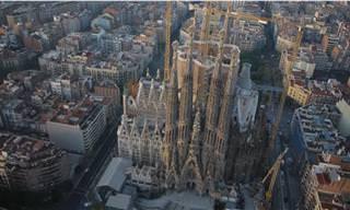 מפה אינטראקטיבית לטיול מיוחד בברצלונה