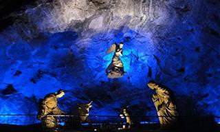 11 מערות מלח מדהימות מרחבי העולם