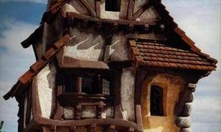 בתים מדהימים שנבנו בהשראת אגדות וסרטי פנטזיה