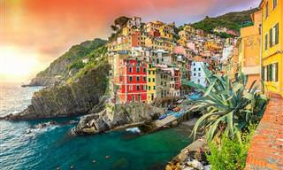 13 ערים מרהיבות ויוצאות דופן שנבנו על קצות מצוקים