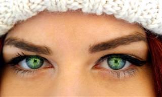 חידת העיניים הירוקות - אתגר למוח!