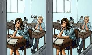 משחק החלומות - מצאו את ההבדלים!