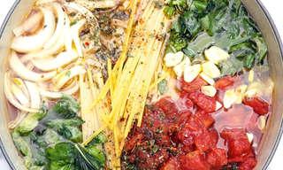 פסטה בסיר אחד - מתכון טעים ומיוחד
