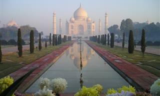 יום בחיי הטאג' מאהל שבהודו