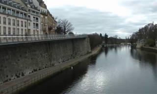 אירופה בדצמבר: טיול חורפי של דני לן בגבול גרמניה - צרפת