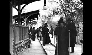 סרטון היסטורי מדהים שמציג את פריז בתחילת המאה ה-20