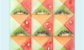 האמנית שיוצרת עיצובים גיאומטרים וסימטריים מושכי עין מדברים שיש לכל אחד מאיתנו בבית