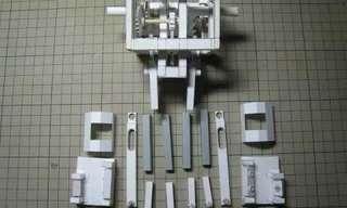 רובוט מהלך שכולו נייר - מדהים!